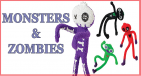 Ghosts, Monsters & Zombies
