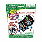Glitter Dots Ornament Craft Kit