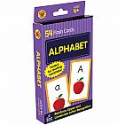 Alphabet, 54 Card Set Flash Cards Grade PK-1