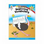 Beginning Vocabulary Workbook Grade 1