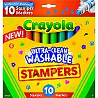 10ct Ultra Clean Washable Stampers