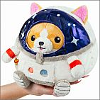 Undercover Corgi in Astronaut Outfit
