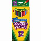 12ct Long Colored Pencils