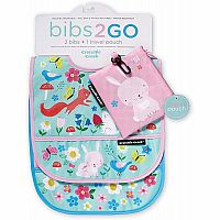 Backyard Friends Bib Set