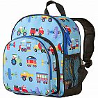 Disc  Trains Planes And Truck Pack N Snack Backpack