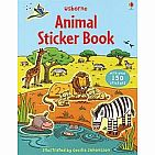 Animal Sticker Book (paperback)