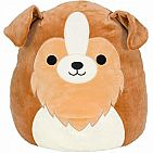 Andres The Sheltie Dog  12 IN Squishmallow