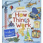 LTF & Q&A Look Inside How Things Work board book