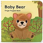 Baby Bear: Finger Puppet Book Board Book