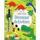 Wipe Clean Dino Activities paperback