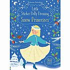 Little Sticker Dolly Dressing Snow Princess paperback