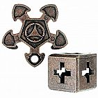 BePuzzled O'gear Hanayama Cast Metal Brain Teaser Puzzle (Level 3)