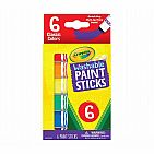6 Count Washable Paint Sticks