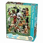 Puppy Love Puzzle - Family