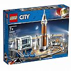 City - Deep Space Rocket and Launch Control