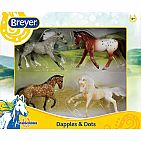 Dapples and Dots Horse Set