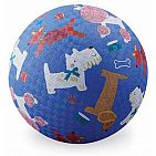 Dogs - Rubber Playground Ball, 5
