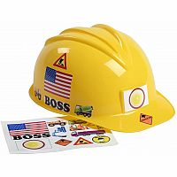 Jr. Construction Helmet with Stickers