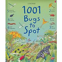 1001 Bugs to Spot 1001 Things to Spot Hardback