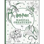 Harry Potter Magical Creatures Coloring Book Paperback