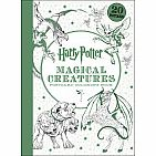 Harry Potter Magical Creatures Postcard Coloring Book