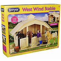 West Wind Wooden Stable