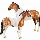 Breyer Traditional Series The Gangsters Tony Da Pony and Bugsy Maloney