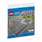 City - Straight & Crossroad Baseplate