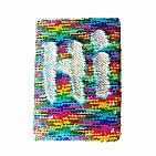 Rainbow/Silver Magic Sequin Journal