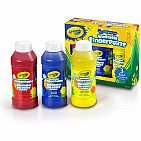 8oz Primary Washable Fingerpaint 3 Count