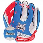 Franklin Sports Air Tech Soft Foam Baseball Glove and Ball Set