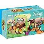 Spirit Riding Free: Lucky & Spirit with Horse Stall