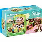 Spirit Riding Free: Abigail & Boomerang with Horse Stall