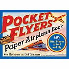 Pocket Flyers Paper Airplane Book Paperback