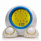 Teach Me Time Talking Alarm Clock And Night Light