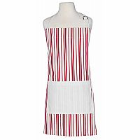 Child's Apron - Classic Red Stripe
