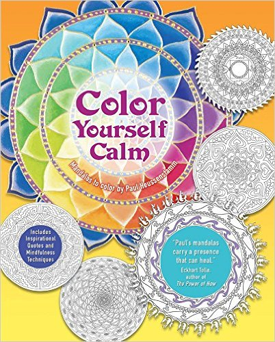 Color Yourself Calm Adult Coloring Book