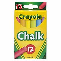 12ct Multi Colored Chalk