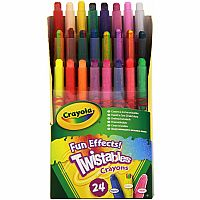 24ct Twistable Fun Effects Crayons