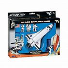 Space Shuttle 7 Piece Playset With Kennedy Sign