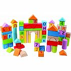 Count and Spell Blocks - 80 Pieces