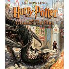 Harry Potter and the Goblet of Fire- Book 4: Illustrated Edition Hardback