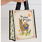 M LLAMA DO WHAT YOU LOVE GIFT BAG