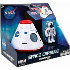 NASA Space Adventure Series: Space Capsule with Lights & Figurine