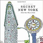 Secret New York Adult Coloring Book