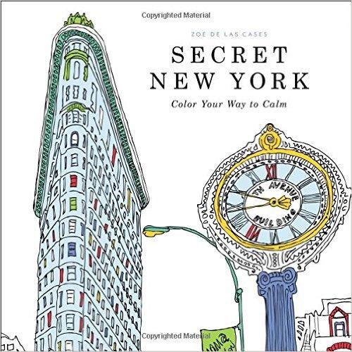 Secret New York Adult Coloring Book