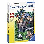 Animal Kingdom 35pc Puzzle