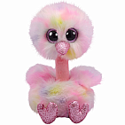 Avery Ostrich Pastel Boo Medium
