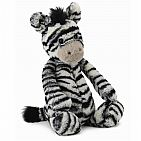 Bashful Zebra Medium 12 Inch