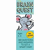 Brain Quest For Threes - 4Th Edition